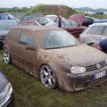 VW Golf dirty