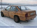 opel vectra wood decor